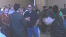 Victor Ambros celebrabdo el premio Lasker 2008