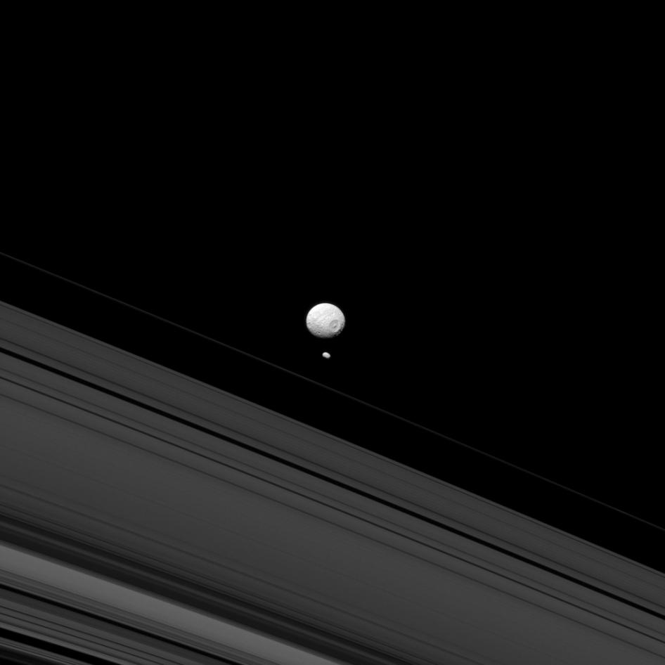 Mimas y Pandora